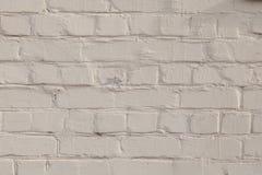 Alte weiße und graue Backsteinmauer Lizenzfreie Stockfotos
