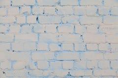 Alte weiße und graue Backsteinmauer Lizenzfreie Stockfotografie
