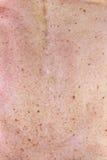 Alte weibliche Haut Stockfotos