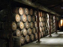 Alte Weinkellerei Lizenzfreies Stockfoto