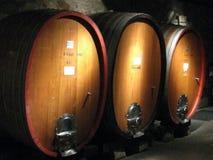 Alte Weinkellerei Stockfoto