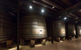 Alte Weinkellerei stockbild