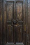 Alte Weinlese austrain Tür von Jahrhundert 19 Stockbilder