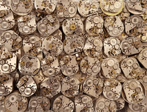 Alte Weinlese passt antiken Hintergrund der Mechanismen auf Lizenzfreie Stockfotos