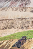 Alte Weinlese verlassene silberne Goldmine Stockbilder