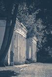 Alte Weinlesefotos Alter schäbiger Ruinenspaltenpark Lizenzfreie Stockfotografie