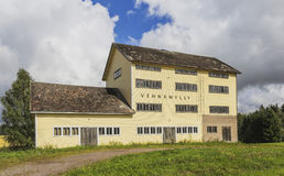 Alte Weizenmühle Lizenzfreies Stockfoto