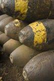Alte Weltkrieg-Munition Stockfotografie