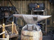 Alte Werkstatt Stockbild