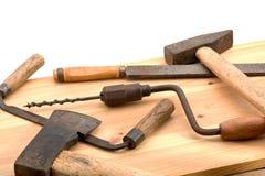 Alte Werkzeuge Stockfoto