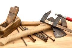 Alte Werkzeuge Stockbilder