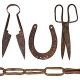 Alte Werkzeuge Lizenzfreies Stockfoto