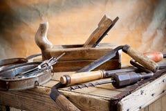 Alte Werkzeuge Stockfotografie