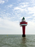 Alte Weser lighthouse Royalty Free Stock Image