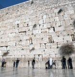 Alte Westwand in Jerusalem Stockfoto