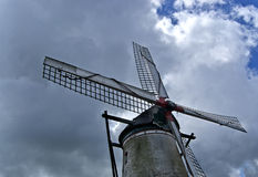 Alte Windmühle Stockfotos
