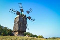 Alte Windmühle Lizenzfreie Stockfotos