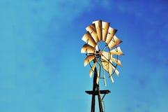 Alte Windmühle. Lizenzfreies Stockfoto
