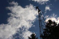 Alte Windmühle Stockbild