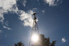 Alte Windmühle Stockbilder