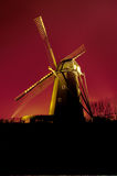 Alte Windmühle bei Bokrijk lizenzfreies stockbild