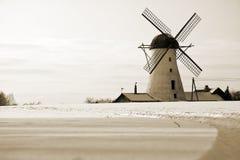 Alte Windmühle in Estland Stockbilder