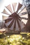 Alte Windmühle nahe Sibiu, Siebenbürgen, Rumänien Stockfoto