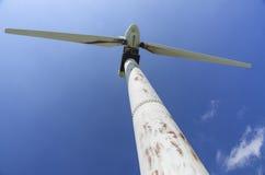 Alte Windmühle am Südpunkt, große Insel Lizenzfreie Stockfotografie