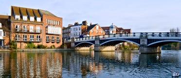Alte Windsor Brücke Stockfoto