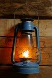 Alte windundurchlässige Lampe Stockfotografie