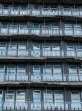 Alte Wohnungen stockfoto