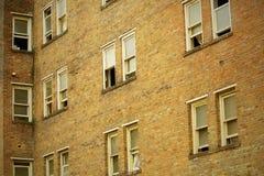 Alte Wohnungen. Lizenzfreies Stockfoto