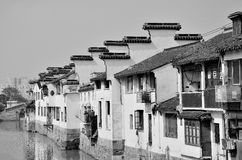 Alte Wohnungen Jiangnans Lizenzfreies Stockfoto