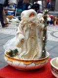 Alte Zahl von Santa Claus Lizenzfreies Stockbild