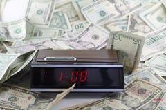 Alte Zeit und Geld Stockbilder