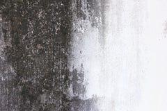 Alte Zementwand, Schwarzweiss Lizenzfreie Stockbilder