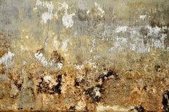 Alte Zementwandbeschaffenheitsschmutzzusammenfassung u. -hintergründe Stockfoto