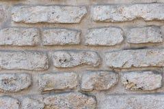 Alte zerbrochene Backsteinmauer Stockfoto