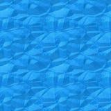 Alte zerknitterte Illustration des blauen Papiers Stockfoto