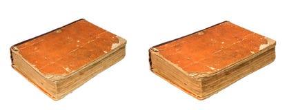 Alte zerlumpte Bücher Weinlese heftige Bücher Antiquitäten lokalisiert Lizenzfreies Stockbild