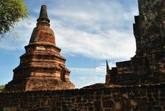Alte Ziegelstein Buddha-Pagode Stockfotografie