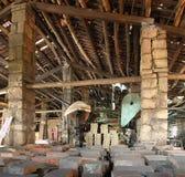 Alte Ziegelstein-Fabrik in Taiwan Lizenzfreies Stockfoto