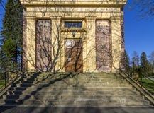 Alte Ziegelstein Kirche Lizenzfreie Stockfotografie