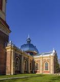 Alte Ziegelstein Kirche Stockbilder