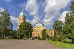 Alte Ziegelstein Kirche Stockfotografie