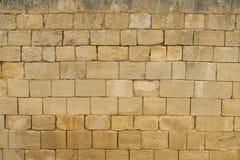 Alte Ziegelsteine als Wandhintergrund stockbilder