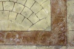 Alte Ziegelsteine Boden, Beschaffenheitshintergrund Lizenzfreies Stockfoto