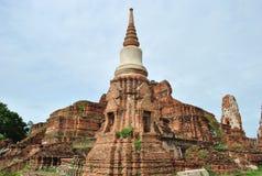 Alte Ziegelsteinpagode in Thailand Lizenzfreie Stockfotos