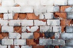 Alte Ziegelsteinwand Lizenzfreies Stockfoto