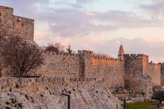 Alte Zitadelle innerhalb der alten Stadt, Jerusalem Lizenzfreie Stockbilder
